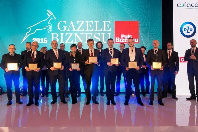 Gazele 2016 rozdanie